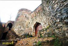 تصویر از قلعه تک آغاج