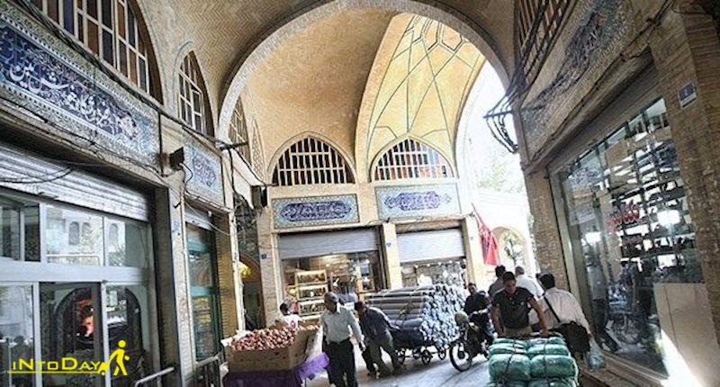 راسته بازار پارچه تهران