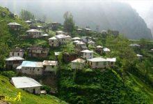 تصویر از روستای هریجان جاده چالوس