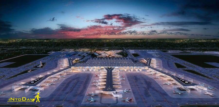 تصاویر فرودگاه جدید استانبول