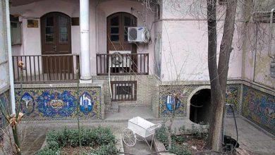 تصویر از خانه صادق هدایت