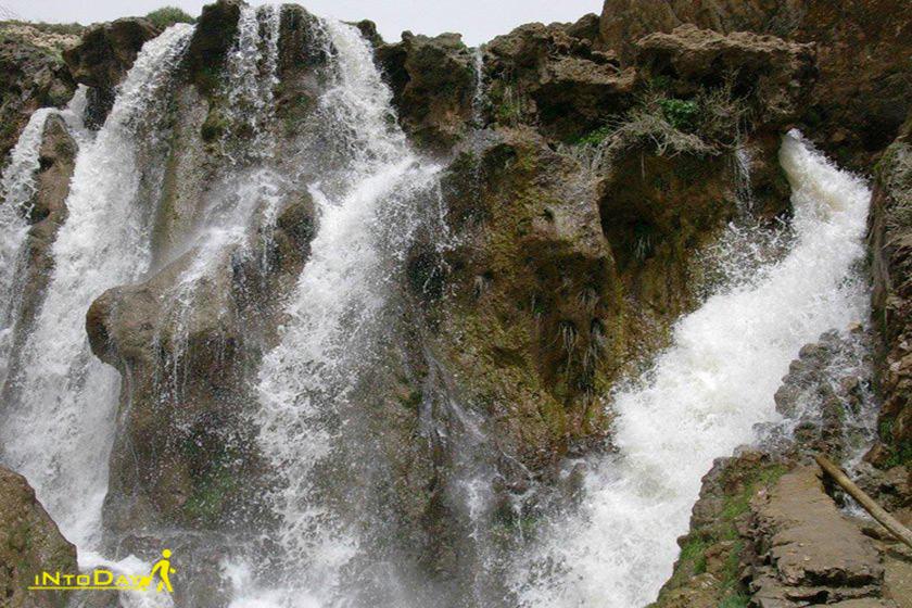 آبشار شیخ علی خان کوهرنگ