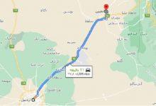 تصویر از فاصله اردبیل تا نمین
