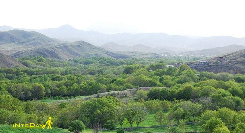 روستای قاهان قم