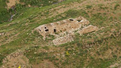 کاروانسرای سنگی پای قله کندوان
