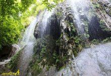 تصویر از آبشار پیر غار فارسیان فرنگ
