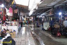 تصویر از بازار سنتی ساری