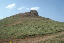 تصویر از تپه قلعه تخت سلیمان گالیکش