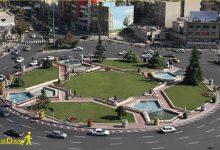 تصویر از میدان ونک تهران