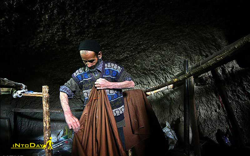 عبا بافی از صنایع دستی بوشهر