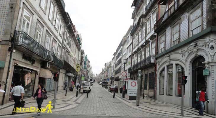 خیابان روا سانتا کاترینا پورتو