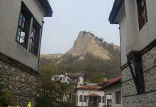 تصویر از شهر ملنیک بلغارستان