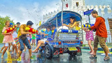 جشن آب تایلند یا سونگکران