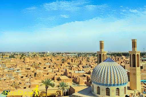 اردکان از شهرهای توریستی کمتر شناخته شده ایران