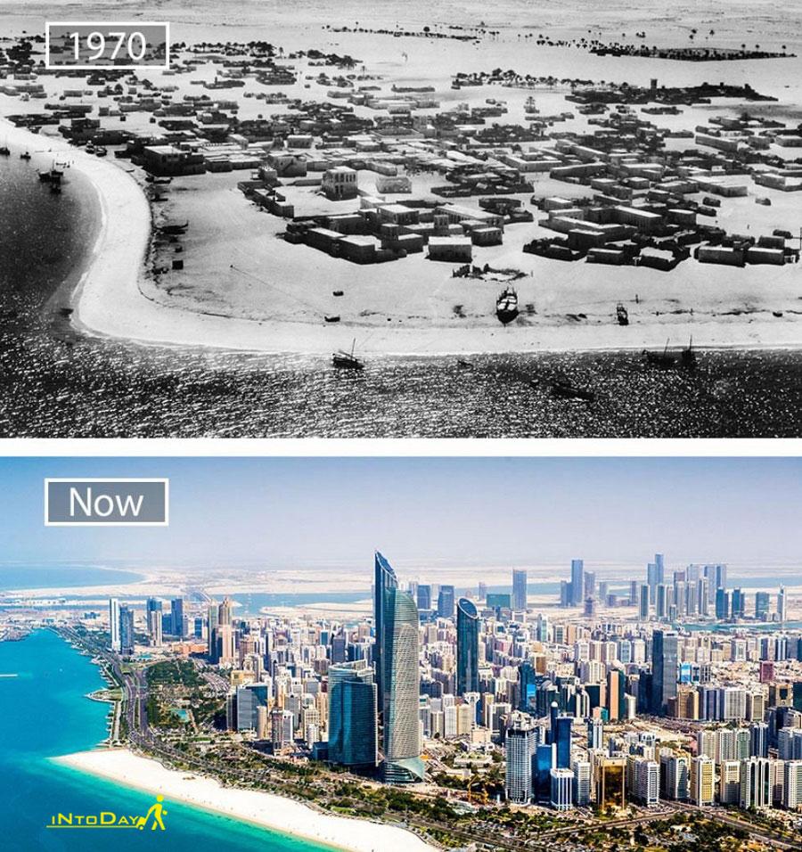 تغییرات عجیب شهر دبی
