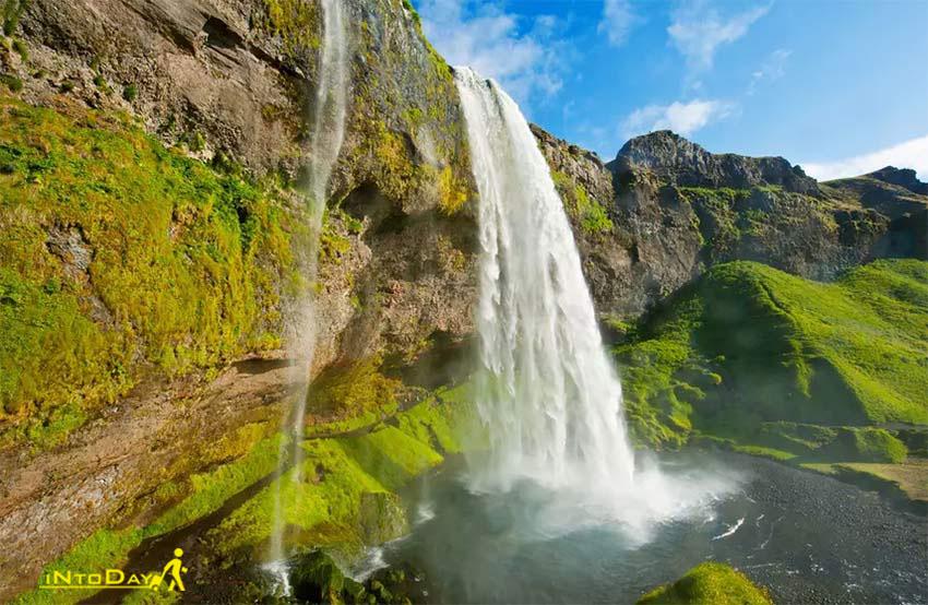 آبشار سلیالاندفوس ایسلند
