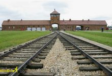 تصویر از اردوگاه کار اجباری آشویتس لهستان