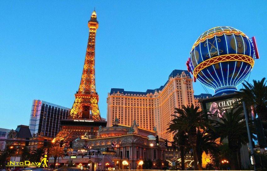 برج ایفل لاس وگاس در هتل پاریس