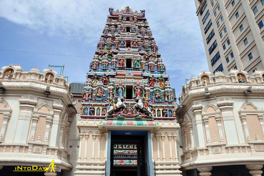 عکس معبد سری ماهاماریان کوالالامپور