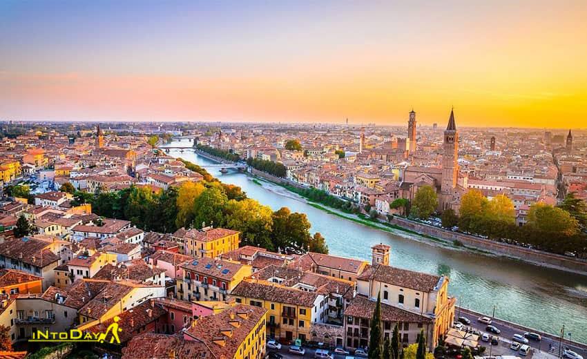 ورونا از شهرهای ایتالیا