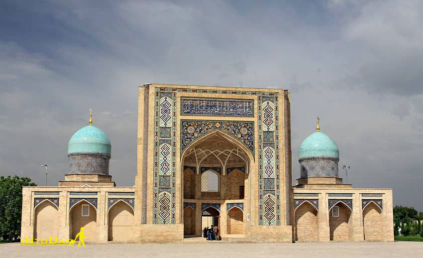مدرسه باراک خان از دیدنی های ازبکستان