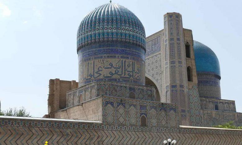 مسجد بی بی خانم از اماکن مذهبی ازبکستان