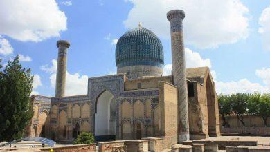 گور امیر از جاذبه های گردشگری ازبکستان