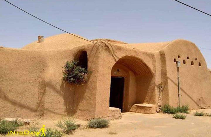 منازل تاریخی روستای مبارکه