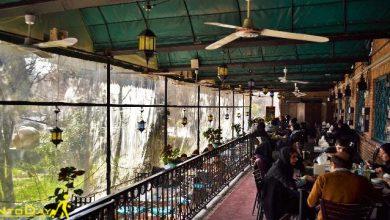 رستوران گیاهی خانه هنرمندان ایران