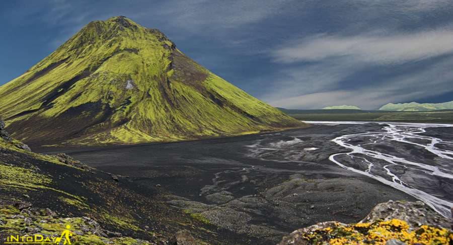 آتشفشان مائیلیفل ایسلند