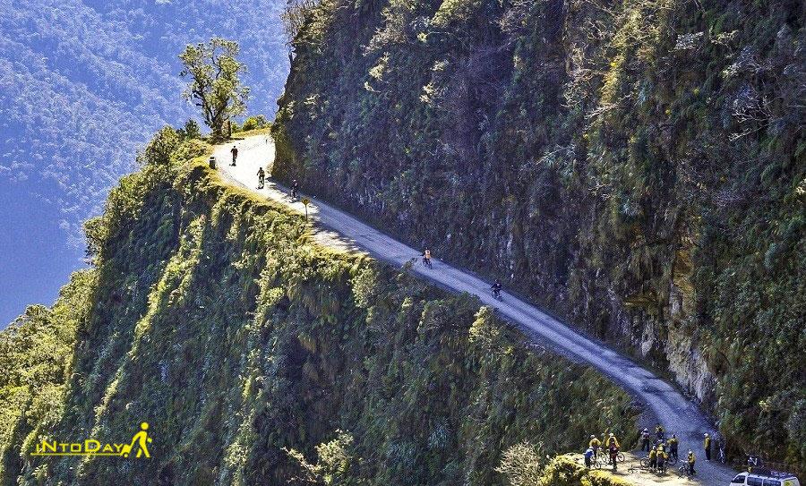 جاده نورث یونگاس آمازون