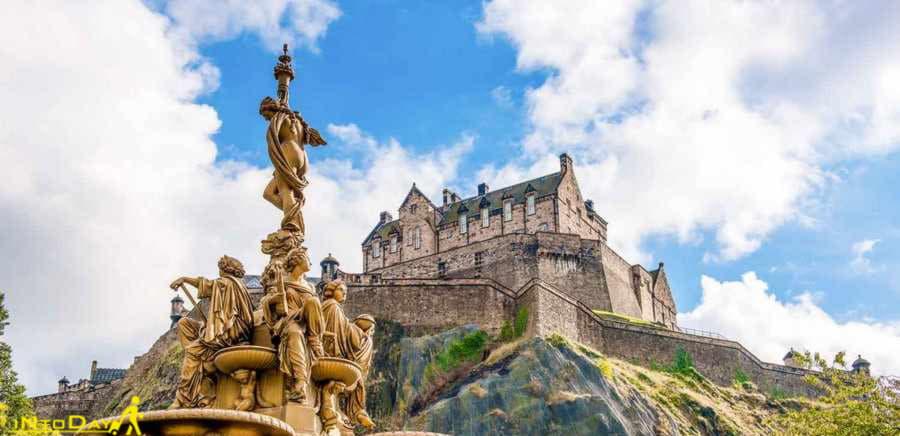 قلعه ادینبرگ اسکاتلند