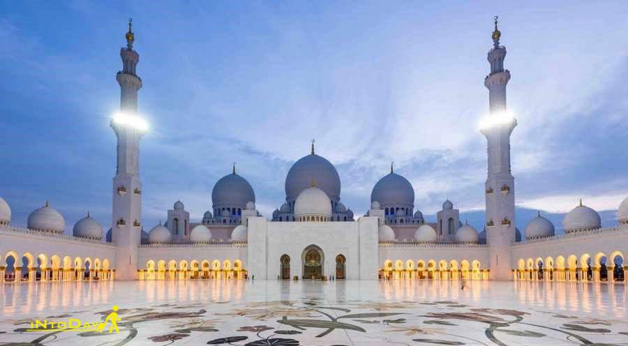مسجد شیخ زاید - ابوظبی