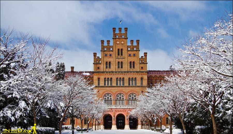 چرنیوتسی از زیباترین شهرهای اوکراین