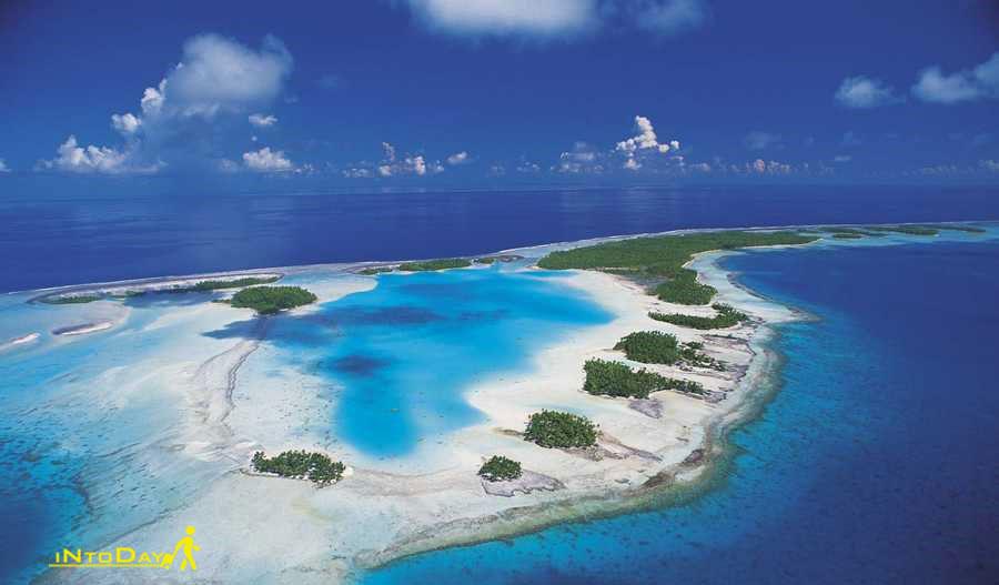 جزیره رنگیروآ از جزایر مرجانی جهان