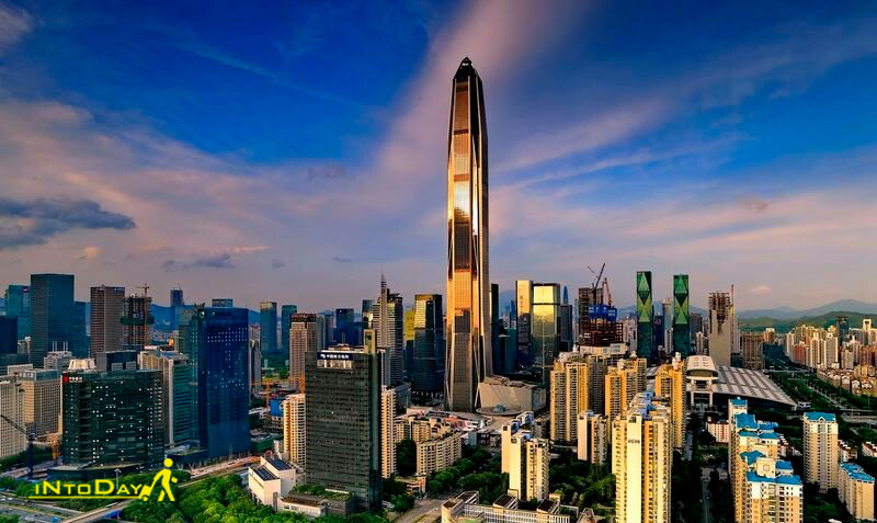 آسمان خراش پینگ آن چین