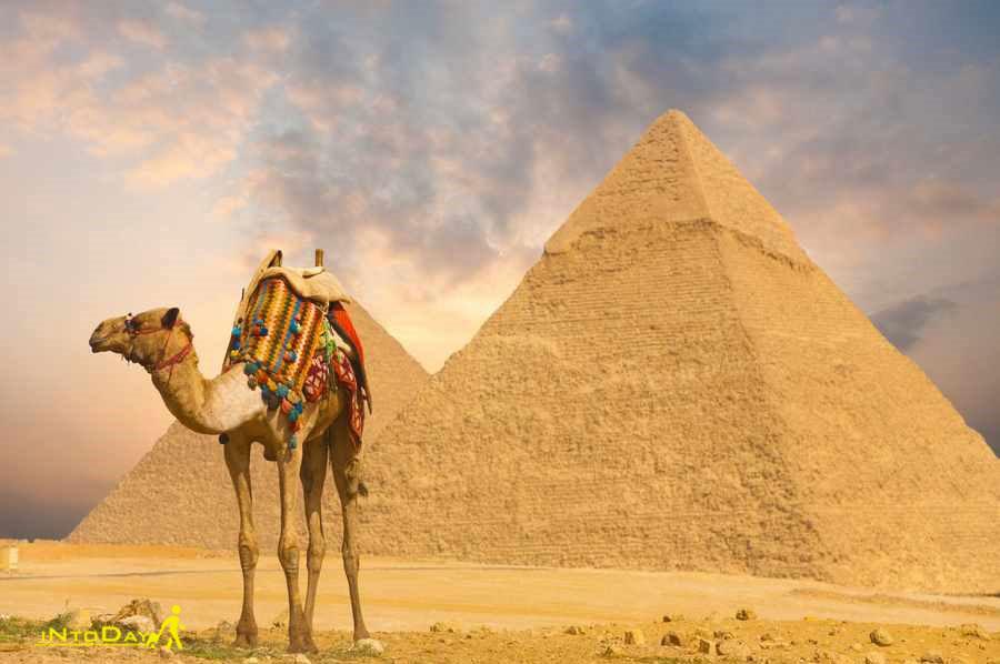 هرم بزرگ جیزه - مصر