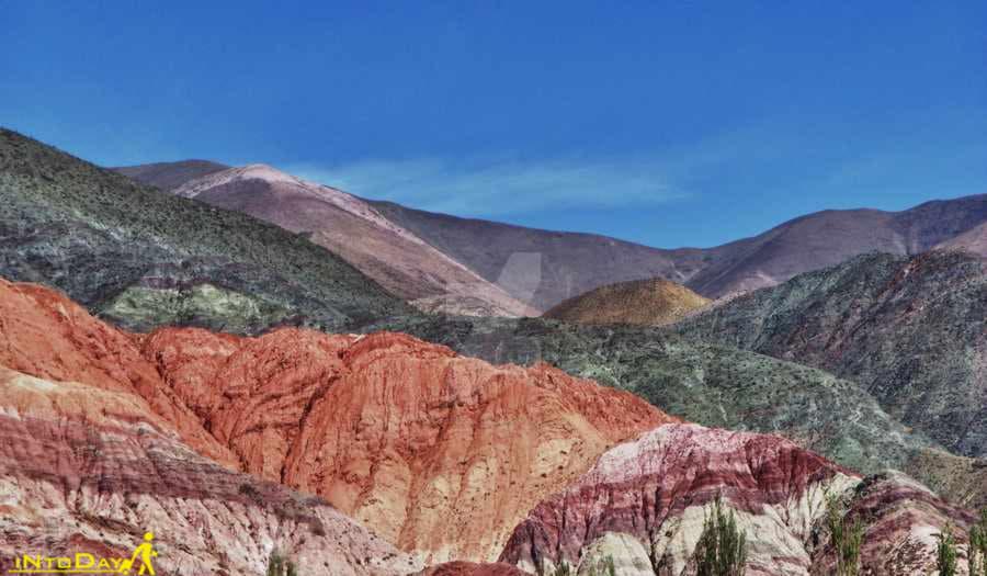 کوه های رنگین کمانی آرژانتین