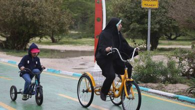 مسیر دوچرخه سواری کیش