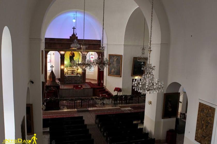 تاریخچه کلیسای ارامنه مریم مقدس تهران