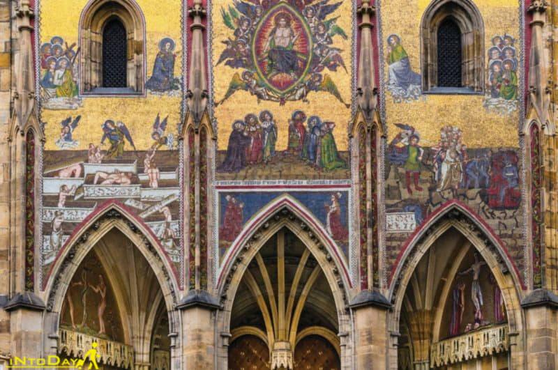 تزئینات قلعه و کلیسای پراگ