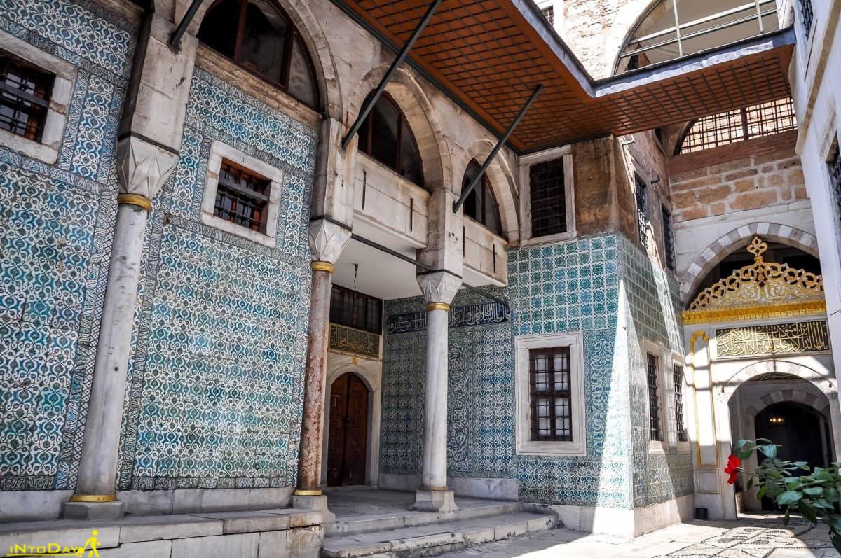 داخل حرمسرای کاخ توپکاپی