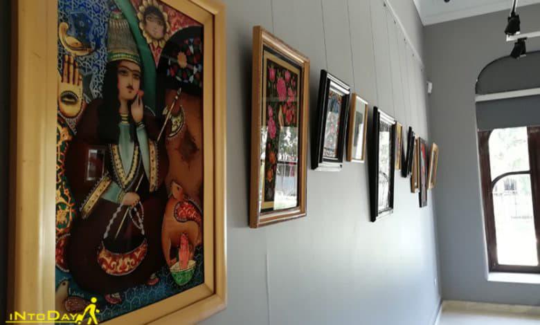 عکس موزه نقاشی پشت شیشه تهران
