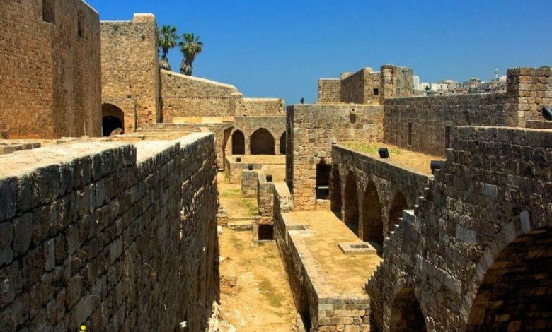 عکس قلعه سن جیل طرابلس