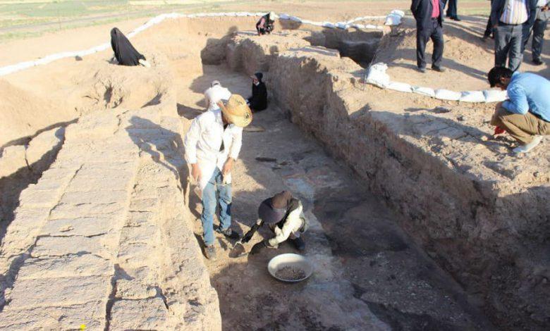 محوطه باستانی شهر کن نیشابور