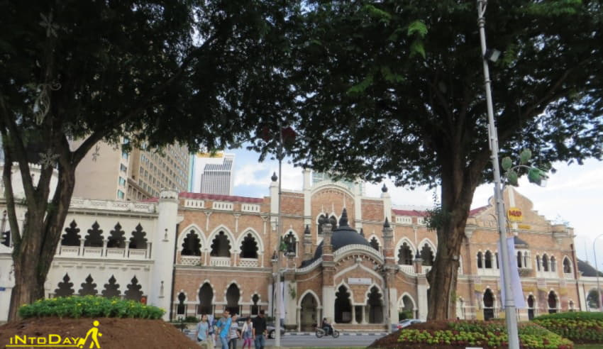 آدرس ساختمان سلطان عبدالصمد کولالامپور