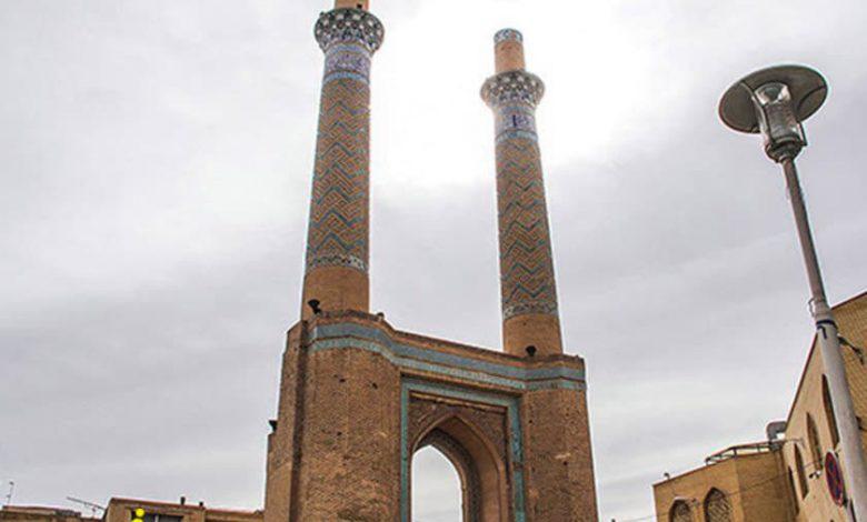 مناره های دارالضیافه اصفهان