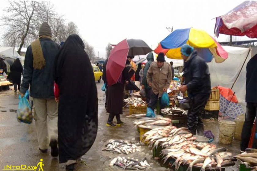عکس بازار هفتگی سیاهکل