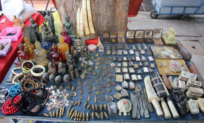 بازار امولت یا طلسم فروشی بانکوک