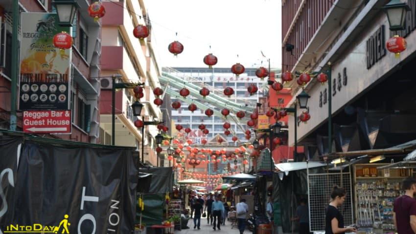 خیابان چینی های کوالالامپور